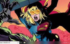 超女SUPERGIRL Win10主题