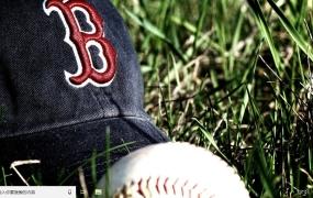 波士顿红袜队 Win10主题