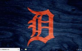 底特律老虎队 Win10主题