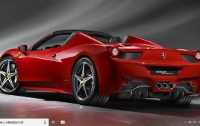 法拉利汽车(Ferrari ) Win10主题