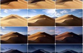 MacOS Mojave 自带沙漠壁纸(5K)