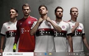拜仁慕尼黑足球俱乐部 Win10主题