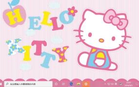 Hello Kitty Win10主题