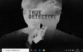 真探 (True Detective) Win10主题