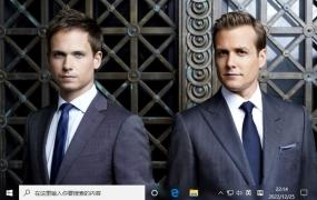 金装律师 (Suits) Win10主题