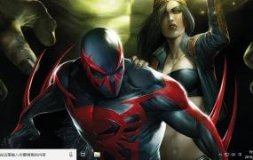 蜘蛛侠2099 Win10主题