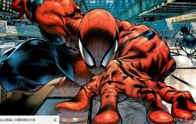 漫画《蜘蛛侠》Win10主题